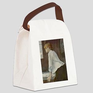 Toulouse-Lautrec The Laundress Canvas Lunch Bag