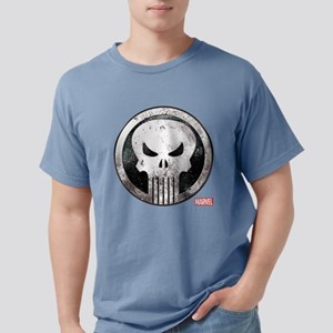 Punisher Grunge Icon Mens Comfort Colors Shirt