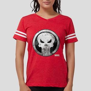 Punisher Grunge Icon Womens Football Shirt