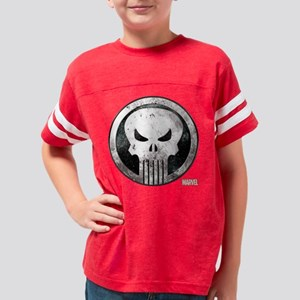 Punisher Grunge Icon Youth Football Shirt