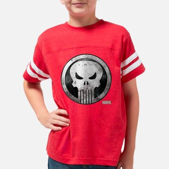Punisher Grunge Icon Youth Football Shirt