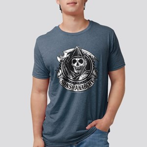 Sons of Anarchy Dark Mens Tri-blend T-Shirt