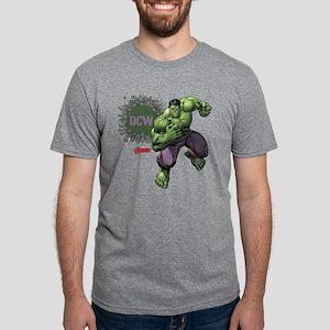 Avengers Hulk Personalizabl Mens Tri-blend T-Shirt