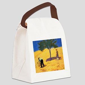 Macke - Tree in Cornfield Canvas Lunch Bag