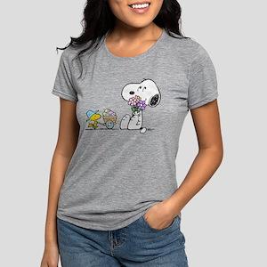 Snoopy Womens Tri-blend T-Shirt