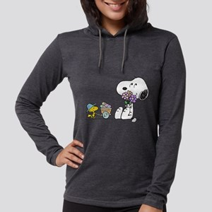 Snoopy Womens Hooded Shirt