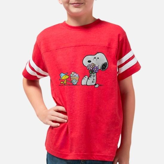 Snoopy Youth Football Shirt