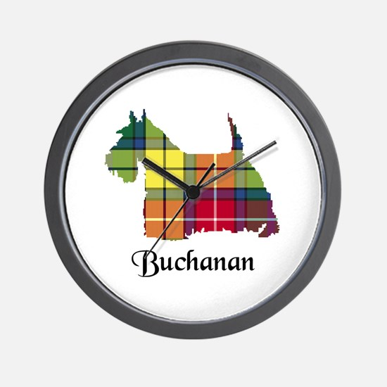 Terrier - Buchanan Wall Clock
