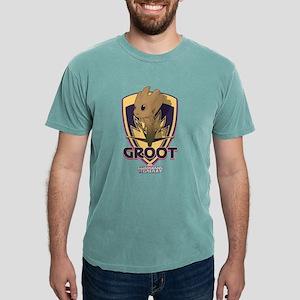 GOTG Baby Groot Emblem Mens Comfort Colors Shirt
