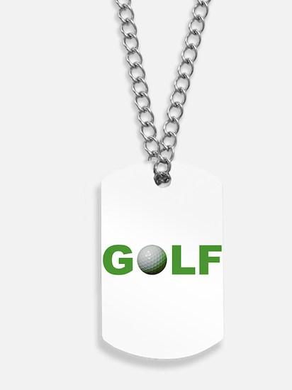Golf Dog Tags