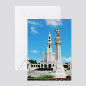 Sanctuary of Fatima Greeting Card