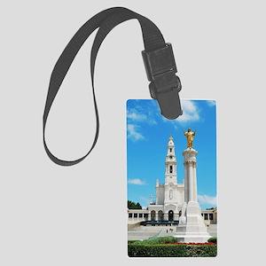 Sanctuary of Fatima Large Luggage Tag