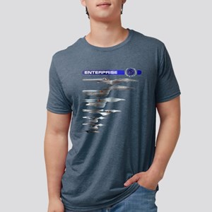 Enterprise Lineage Mens Tri-blend T-Shirt