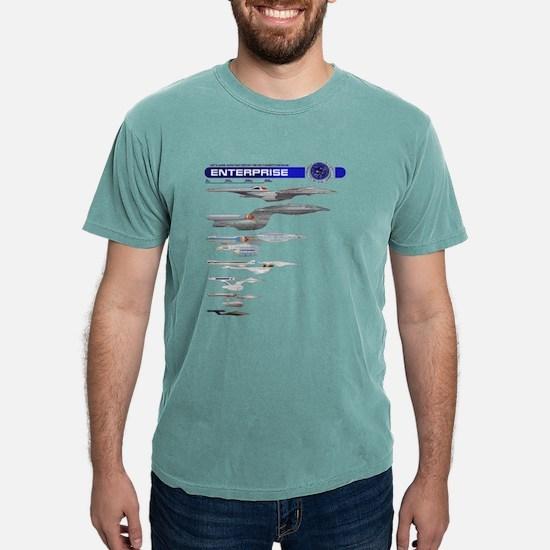 Enterprise Lineage Mens Comfort Colors Shirt