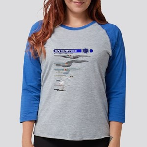 Enterprise Lineage Womens Baseball Tee