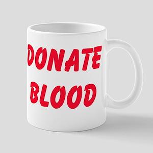 Give Blood Mugs
