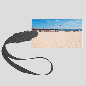 Montegordo beach Large Luggage Tag