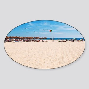 Montegordo beach Sticker (Oval)