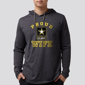 proudarmywife22b Mens Hooded Shirt
