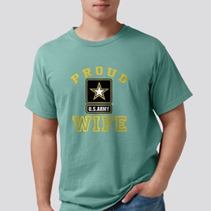 proudarmywife22b Mens Comfort Colors Shirt