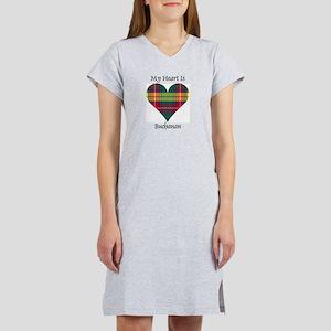 Heart - Buchanan Women's Nightshirt