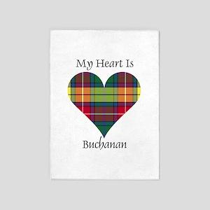 Heart - Buchanan 5'x7'Area Rug