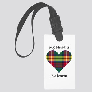 Heart - Buchanan Large Luggage Tag
