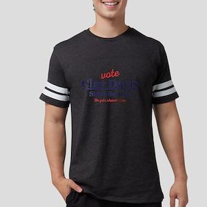 The Wire Vote Clay Davis Mens Football Shirt