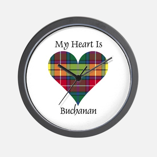 Heart - Buchanan Wall Clock