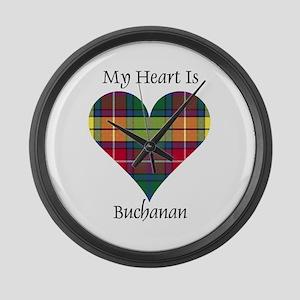 Heart - Buchanan Large Wall Clock