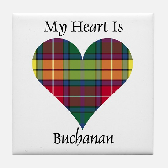 Heart - Buchanan Tile Coaster