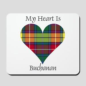 Heart - Buchanan Mousepad