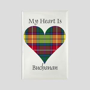Heart - Buchanan Rectangle Magnet