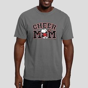 Snoopy - Cheer Mom Mens Comfort Colors Shirt