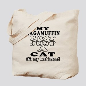 Ragamuffin Cat Designs Tote Bag