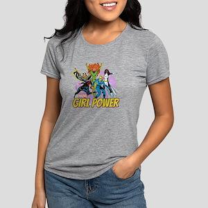 girl power Womens Tri-blend T-Shirt