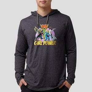 girl power Mens Hooded Shirt