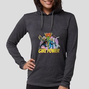 girl power Womens Hooded Shirt