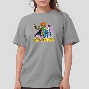 girl power Womens Comfort Colors Shirt