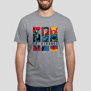 Doctor Strange Panels 2 Mens Tri-blend T-Shirt