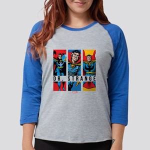 Doctor Strange Panels 2 Womens Baseball Tee