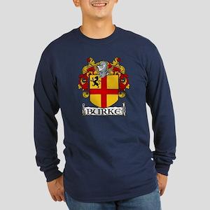 Burke Coat of Arms Long Sleeve Dark T-Shirt