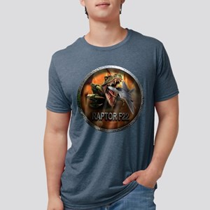 raptor f22 Mens Tri-blend T-Shirt