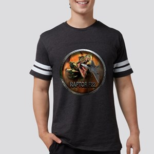 raptor f22 Mens Football Shirt
