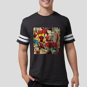 Daredevil Collage  Mens Football Shirt