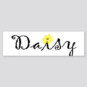 DaisyWithFlower Bumper Sticker