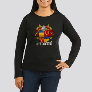 Butler Coat of Arms Women's Long Sleeve Dark T-Shi