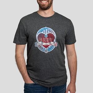 VANurseLOGO Mens Tri-blend T-Shirt