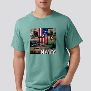 NAVY 1776 Mens Comfort Colors Shirt