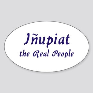 Inupiat Oval Sticker